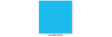 Liner Piscine Sur Mesure Classic Bleu France Albon
